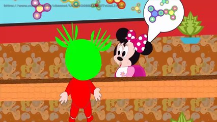 Cartoon for Kid | Kid Movies | Learn color with Mickey Mouse Kiss Ivy Mouse
