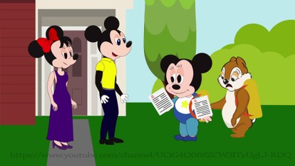 Cartoon for Kid | Kid Movies | Mickey mouse troll Chip and dale