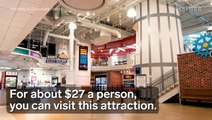 You can make a custom candy bar at Hershey's Chocolate World in Pennsylvania