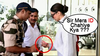 Deepika Padukone EPIC Reaction When Asked For Photo ID At Mumbai Airport