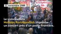 Scorpions, Pink Floyd, David Hasselhoff... La playlist de la chute du mur de Berlin