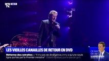 Le DVD de la dernière tournée de Johnny Hallyday avec Les Veilles Canailles sort ce vendredi