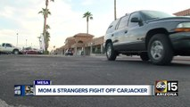 Mesa woman and bystanders fight off would-be carjacker to protect children