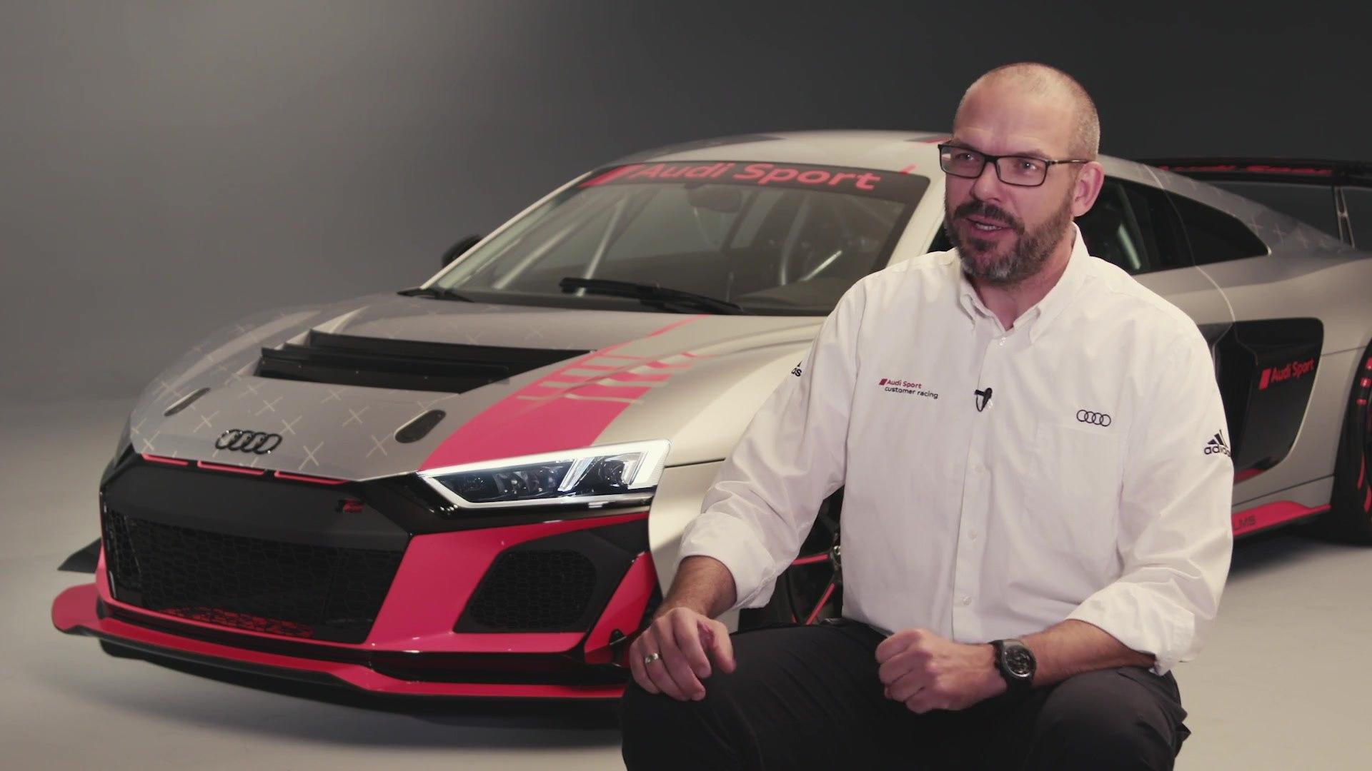 2020 Audi R8 LMS GT4 - Interviews mit Chris Reinke, Leiter von Audi Sport customer racing