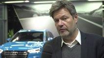 Robert Habeck im Audi Werk Ingolstadt