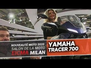 YAMAHA TRACER 700 - Nouveautés moto 2020 - EICMA 2019