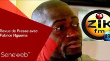 Revue de Presse du 8 Novembre 2019 avec Fabrice Nguema