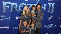 """The Bucket List Family's Garrett & Jessica Gee """"Frozen 2"""" World Premiere Red Carpet"""