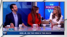 Trump Jr. Fact-Checked on The View