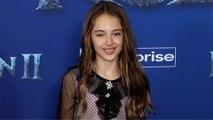 "Julia Butters ""Frozen 2"" World Premiere Red Carpet"
