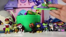 PAW PATROL MISSION PAW Sweetie Surprise Egg with New Paw Patrol Mission Toys and Blind Bag Surprises