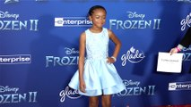 "Faithe Herman ""Frozen 2"" World Premiere Red Carpet"