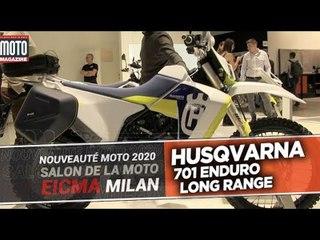 HUSQVARNA 701 LONG RANGE LR - Nouveautes moto 2020 - EICMA 2019