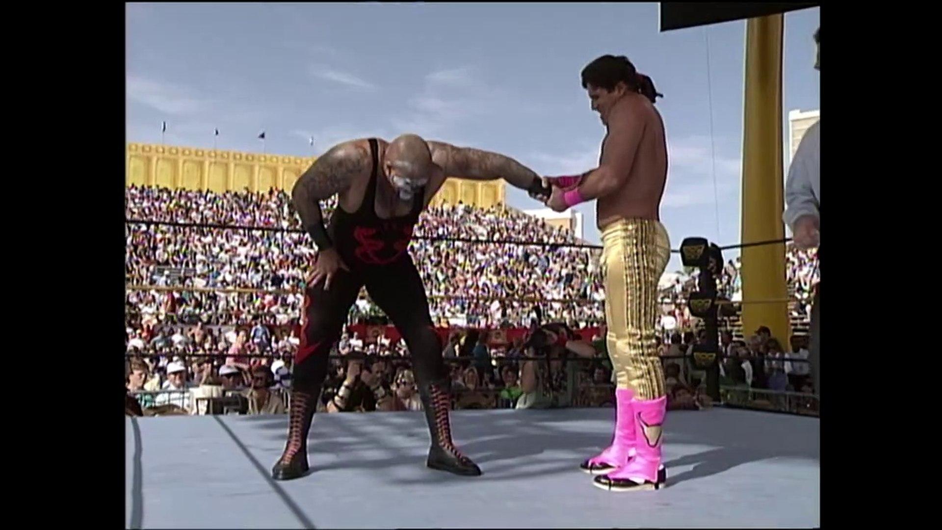 Papa Shango vs El Matador (WrestleMania IX Dark Match) - video ...
