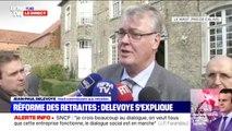 """Jean-Paul Delevoye sur les retraites: """"Mon rôle est d'apporter des contributions au débat (...) il sera tranché en son temps et en son heure"""""""