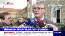 """Retraites: Jean-Paul Delevoye assure que """"la décision politique appartient au Président et au Premier ministre et s'impose à tous"""""""