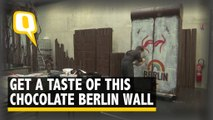 Get A Piece Of This Chocolate Berlin Wall After Its Knocked Down