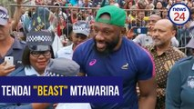 WATCH | Beeeeast! Durban crowd can't get enough of Tendai