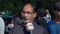 """كاميرا """" حديث بغداد""""  تستطلع آراء المتظاهرين في تقرير خاص"""