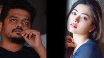 Karthik Gowda supports Rashmika Mandanna | FILMIBEAT KANNADA