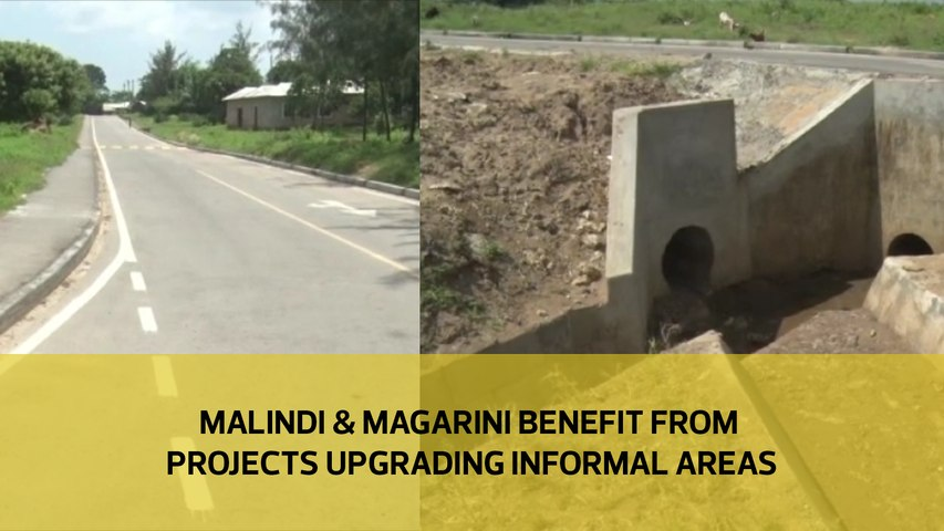 Malindi and Magarini benefits from projects upgrading informal areas