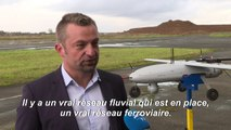 Dans le nord de la France, tests de livraison par drone pour le futur plus grand site d'-e commerce d'Europe
