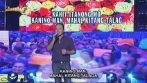 Chad Borja sings Ikaw Lang in Singing Mo To