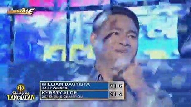 William Bautista, naagaw ang titulo ng defending champion ng Tawag ng Tanghalan