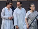 Breaking: Government withdraws SPG security of Sonia, Rahul and Priyanka