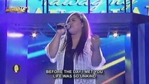 Luzon contender, Yulle Joy Anastacio sings Aretha Franklin's A Natural Woman
