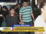 ABS-CBN Executives at mga artista, patuloy ang pagdating sa unang gabi ng lamay ni Direk Wenn Deramas