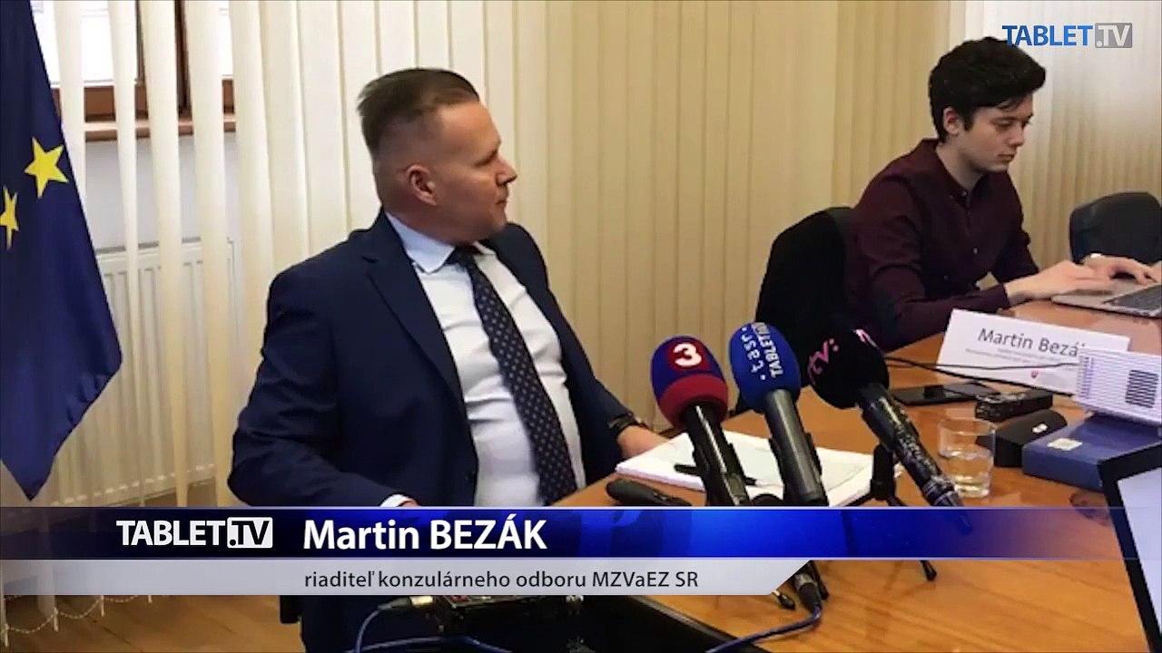 ZÁZNAM: TK Ministerstva zahraničných vecí
