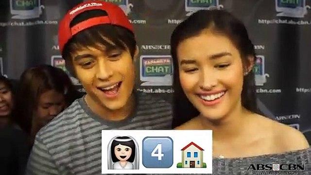 Liza & Enrique in Emoji Challenge