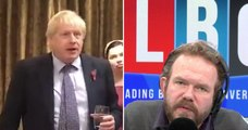 James O'Brien Dissects Boris Johnson's Contradictory Speech