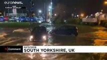 Наводнения на севере Англии