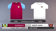 Match Preview: Burnley vs West Ham on 09/11/2019