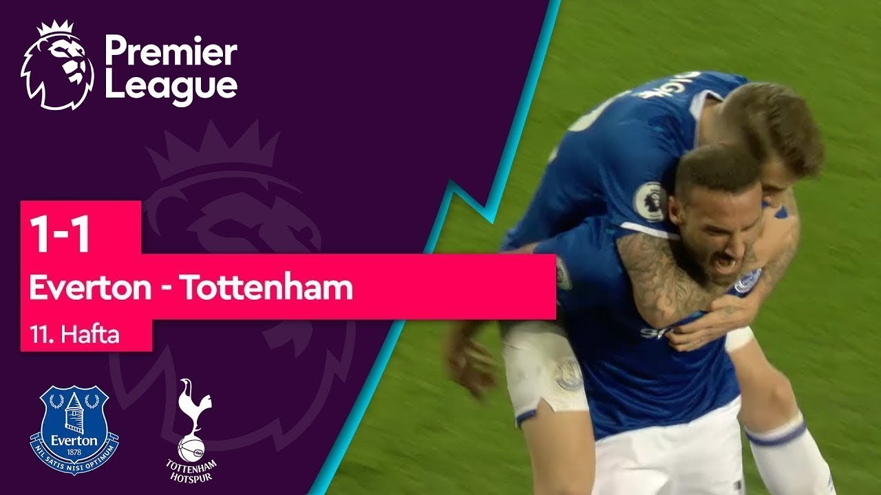 Everton - Tottenham (1-1) - Maç Özeti - Premier League 2019/20