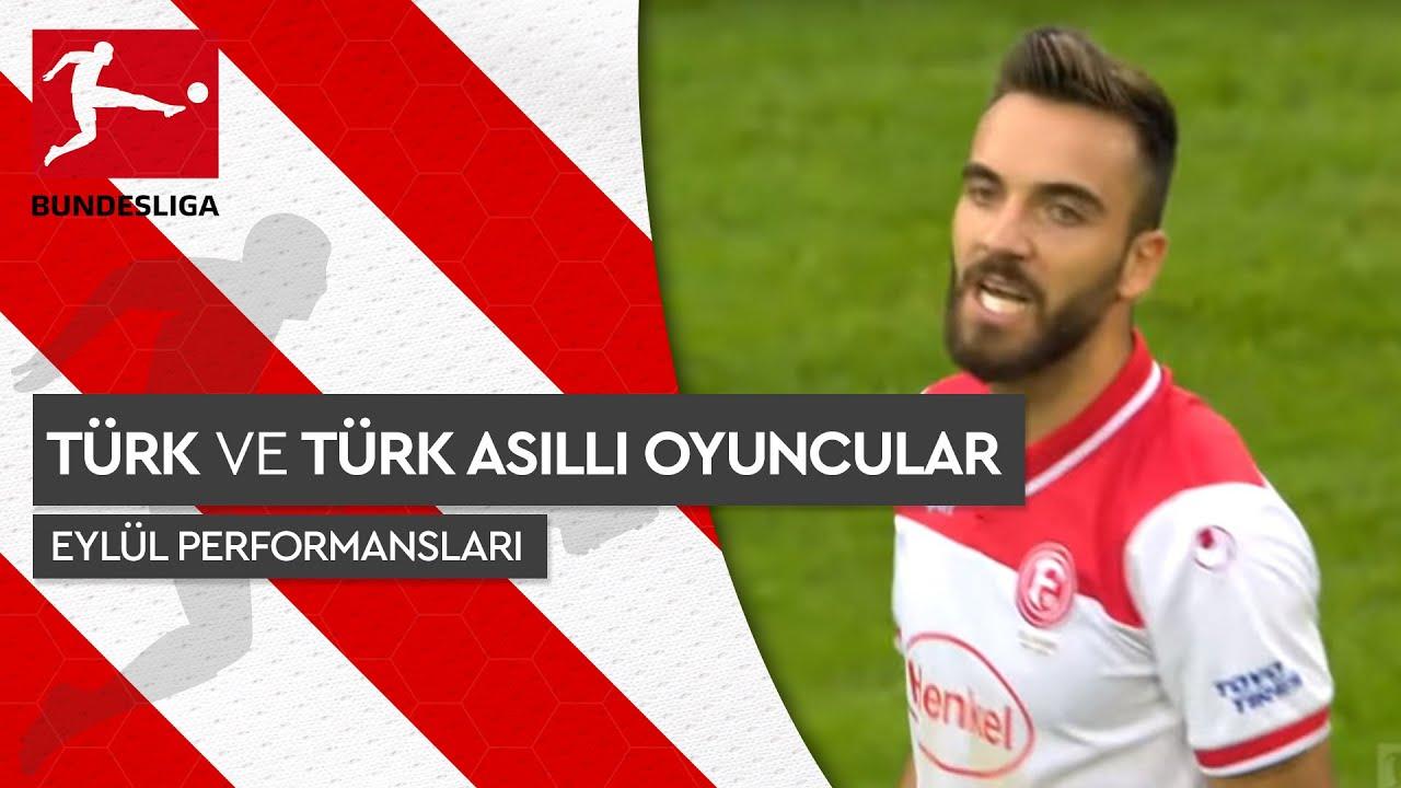 Bundesliga 2019/20 - Türk ve Türk Asıllı Futbolcular - Eylül Performansları
