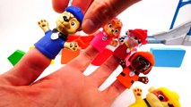 Paw Patrol Finger Heads Toys on Wrong Shapes for Toddlers Learning Colors