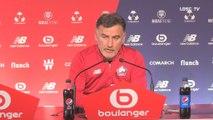 """Christophe Galtier : """" Ce match contre le FC Metz est très important"""""""