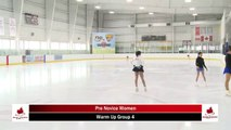2020 Skate Ontario Sectionals - Pre-Novice Women - Free  Program (Skaters 18-35)