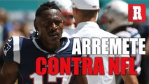 Tras asegurar que la NFL es racista, Brown se arrepiente de sus comentarios