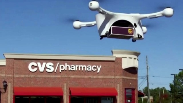 UPS Drone Delivers Medication To Patients