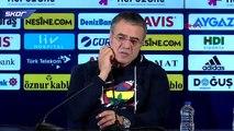 Fenerbahçe Teknik Direktörü Ersun Yanal: 'Bu kabul edilebilir değil'
