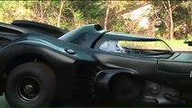 Ce fan de Batman s'est fabriqué sa propre Batmobile