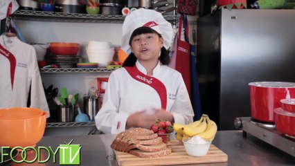 Cook Time With Remmi - Strawberry Banana Sandwiches