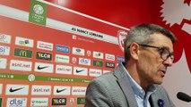 La réaction de Jean-Louis Garcia après le 10e nul de l'ASNL contre Troyes (0-0)