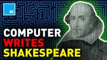 This computer can write Shakespearean prose — Future Blink