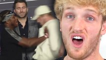 Logan Paul Reacts To Viral KSI Push At Final Press Conference