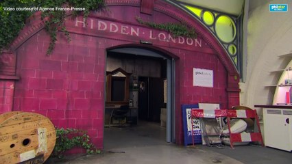 Secret cabinet and bomb shelters: inside London Underground's ghost stations